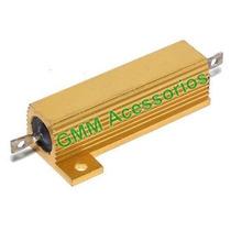 Resistor P/ Lampadas Leds Canceller Setas Piscas Canbus Moto
