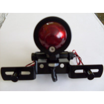 Lanterna Parafusos Led Suporte De Placa Moto Bullet Custom