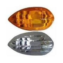 Lentes Pisca Cristal P/ Yamaha Fazer 250 Cristal/ Amarelo