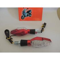 Pisca Moto Seta Led Hornet Falcon Twister Cg Fazer Titan Ybr
