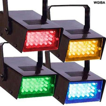 Kit 4 Strobos Led Coloridos Imperdivel Sequencial Festa Show