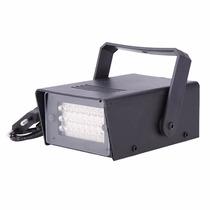 Mini Strobo Flash Projetor De Luz Festa Iluminação Balada