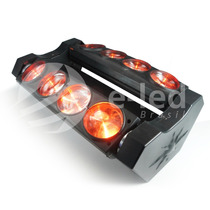 Moving Beam Spider Rgbw Cree 8x12w 4x1 Quadri-led Full Color