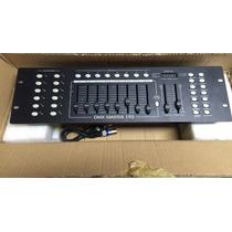 Mesa Dmx 512 Controladora 192 Canais Efeitos Cabo Dmx