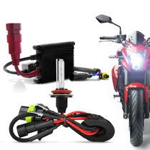 Kit Xenon Moto Hb4 6000k Reator Super Slim Lampada Farol Luz