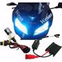 Kit Xenon Moto Slim Hid H4-2 8000k Reator Fino