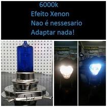 Lampada Efeito Xenon H4 Cg 125 Titan 150 Ybr