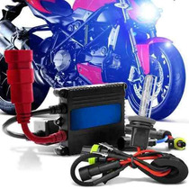 Kit Xenon Moto Slim Digital 8000k H4-2 Ybr Cg Titan 125 150