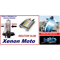 Kit Xenon Hid Moto Slim H4-2 Xenon/halógena Frete Grátis