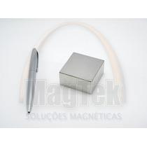 Ímã Neodímio Bloco N35 2 X 2 X 1 Pol. - Super Ímã Forte