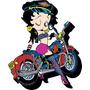 Imã Betty Boop, Motocicleta - 95174
