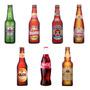 7 Imãs De Geladeira - Cerveja Heineken Brahma Skol Coca Cola
