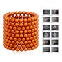 Neocube 5mm De 216 Esferas Magnéticas (laranja)
