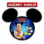 50 Imãs De Geladeira Personalizados - Mickey Mouse