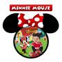 20 Imãs De Geladeira Personalizados - Minnie Mouse
