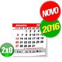 Mini Calendário 2016 Para Imã De Geladeira 100 Uni