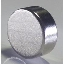 30 Pç Super Imã Neodímio 10x4mm N35 3700 Gauss Suporta 2,5kg