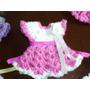 Lembrancinha Maternidade/chá De Fraldas Vestidinho Crochê