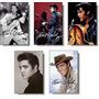 Elvis Presley 1 - Coleção Com 05 Imãs De Geladeira