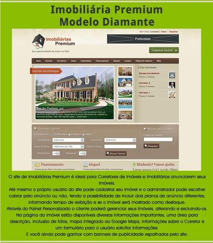 Imobiliária Com Google Maps + Modulos De Pagamento