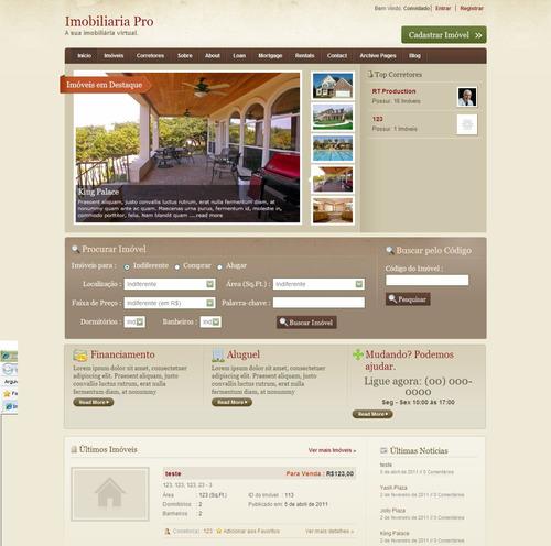 Imobiliária Virtual Com Google Maps Em Php