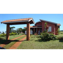 Vende-se Casa Nas Terras De Santa Cristina Gleba Iv