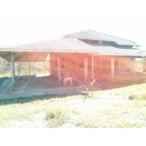 Sitio Com 5 Cômodos E 2 Banheiros .área Ao Redor Da Casa .