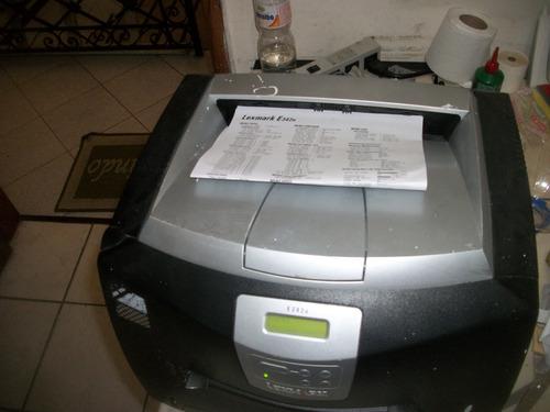 Impressora Laser Lexmark E 342n Com Nota Fiscal Perfeita