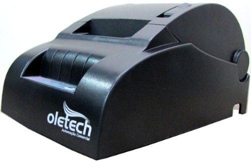 Impressora Térmica Cupom Ñ Fiscal 57mm Oletech 100% Nova