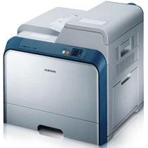 Impressora Laser Colorida Samsung Clp-600n Com Toner Outlet
