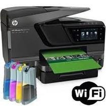 Multifuncional Hp 8610 + Bulk Ink Instalad + Pigmentada Grat
