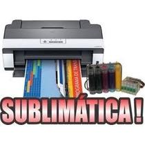 Impressora Epson T1110 A3 Bulk Ink+tinta Sublimatica Dipense