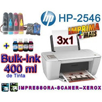 Multifuncional Hp3516 Wi-fi + Bulk Ink + 400ml Tinta!!!