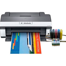 Impressora Epson T1110 + Bulk Ink +500 Ml Tinta Sublimatica