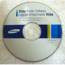 Cd De Instalação Da Impressora Samsung Scx-6x45