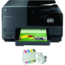 Multifuncional Hp 8610 + Bulk Ink Chip + 500ml Tinta Inktec