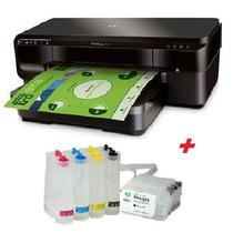 Impressora A3 Hp 7110 + Bulk Ink +500ml De Tinta Pigmentada