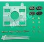 Carro X De Acrílico Reprap Impressora 3d ¿ Extrusor Vertical