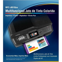 Multifuncional A3 Brother J 6510 Dw + Maxcombo + 400ml Tinta