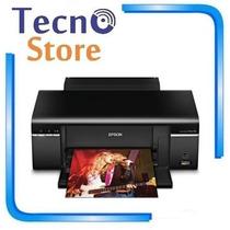 Impressora Epson Stylus T50 Imprime Em Cd/dvd Jato De Tinta