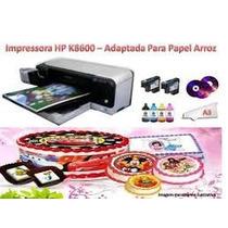 Impressora Pro K8600 A3 Adaptada P/ Imprimir Em Papel Arroz.