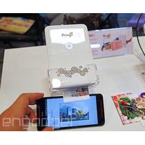 Impressora Portátil Pra Celular Pringo Cor Branco