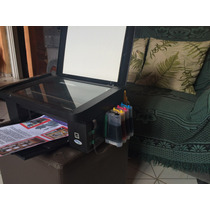 Impressora Epson Tx 115 / 105 Com Bulk Mais 400ml De Tinta