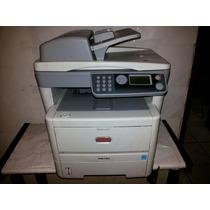 Impressora Multifuncional Laser Oki Mb460 Funcionando