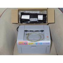 Impressora Samsung Laser Ml2010 Com 2 Toners E Recarga