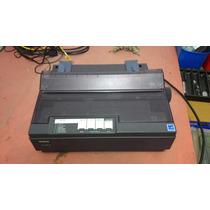Impressora Matricial Epson Lx 300+ii Preta