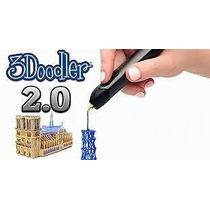 Caneta 3d 3doodler 2.0 Original Na Caixa - Crie Em 3d No Ar!