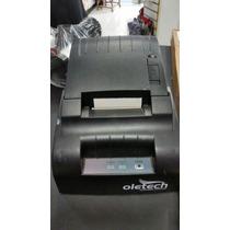 Impressora N Fiscal Térmica 57mm Usb Oletec N Cupom