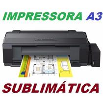 Impressora A3 Epson L1300 Com Bulk Ink Original De Fábrica