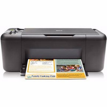 Impressora Copiadora Scanner Hp Deskjet F4480 Black